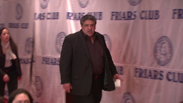 vincent pastore at the friars club roast of matt lauer at new york ny - vincent pastore stock videos and b-roll footage