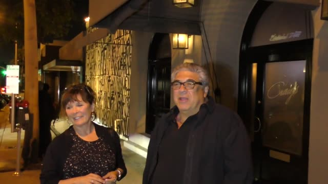 interview vincent pastore talks about playing a mobster outside craig's restaurant in west hollywood in celebrity sightings in los angeles - vincent pastore stock videos and b-roll footage