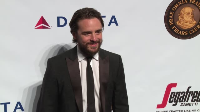 Vincent Piazza at Friars Club Honors Martin Scorsese With Entertainment Icon Award at Cipriani Wall Street on September 21 2016 in New York City