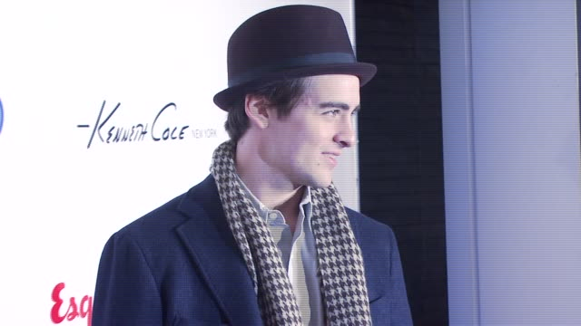 vincent piazza at the esquire magazine and village academies honor bill cosby james p comner and howard l fuller at esquire north in new york new... - esquire magazine stock videos & royalty-free footage