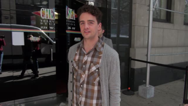 Vincent Piazza at 'The Wendy Williams Show' studio in New York NY on 09/27/12