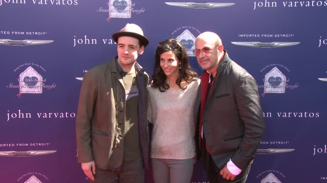 Vincent Piazza John Varvatos at The John Varvatos 10th Annual Stuart House Benefit on 3/10/13 in Los Angeles CA