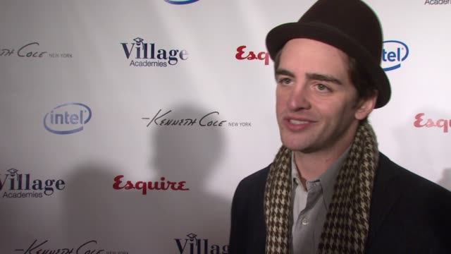 Vincent Piazza talks about what brought him out tonight why education is so valuable how education shapes lives how his good education helped him...