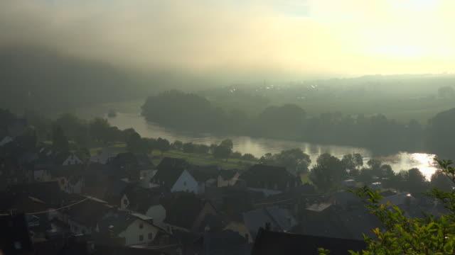 Vine village Ürzig, Moselle River, Moselle Valley, Rhineland-Palatinate, Germany