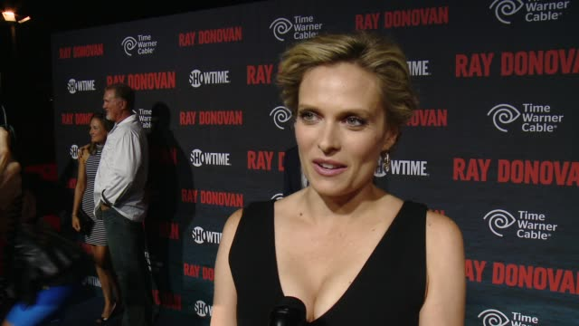 vidéos et rushes de vinessa shaw on what fans can expect from season 2, why this show has resonated with the audience so quickly and what an emmy nomination would mean... - nominations aux emmy awards