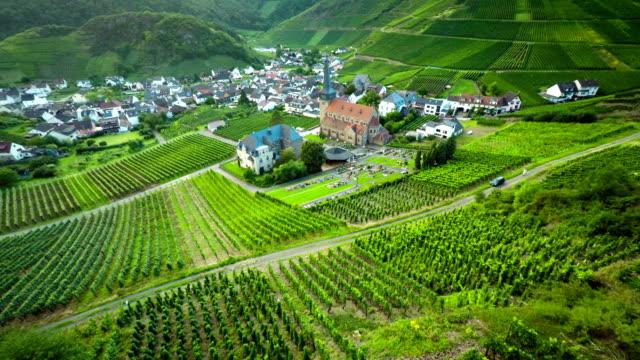ANTENNE: Wijngaard landschap