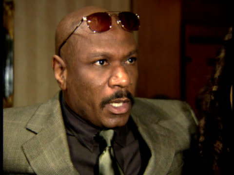 ving rhames talks about being nominated. - scriptwriter stock videos & royalty-free footage