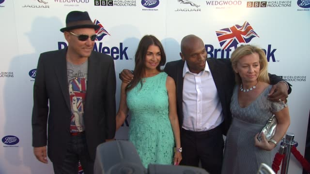 vinnie jones at the launch of the seventh annual britweek festival a salute to old hollywood on 4/23/13 in los angeles ca - vinnie jones stock videos & royalty-free footage