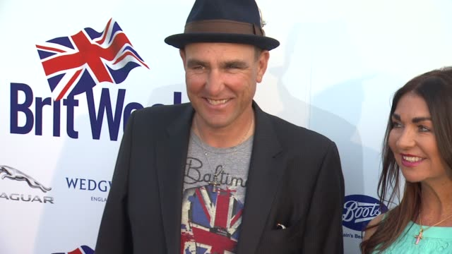 vinnie jones at the launch of the seventh annual britweek festival a salute to old hollywood on 4/23/13 in los angeles, ca . - vinnie jones stock videos & royalty-free footage