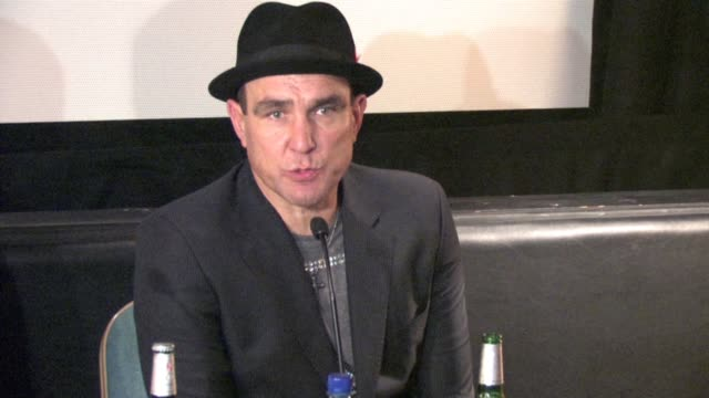vinnie jones jonas altberg aka basshunter on being tempted to hit people in the house on him being a team captain in footballl on his role in the... - vinnie jones stock videos & royalty-free footage