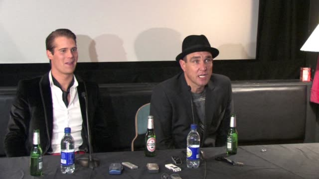 vinnie jones on being led to believe the caliber of celebrities in the house would have been higher, on possible negative repercussions to his acting... - vinnie jones stock videos & royalty-free footage