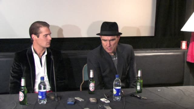 vinnie jones on being surprised about alex reid winning, on vinnie cooking at the celebrity big brother winner's press conference at borehamwood... - vinnie jones stock videos & royalty-free footage