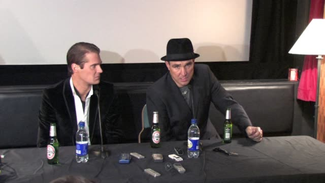 vinnie jones on vinnie accepting to go in to the house at the celebrity big brother winner's press conference at borehamwood england - vinnie jones stock videos & royalty-free footage