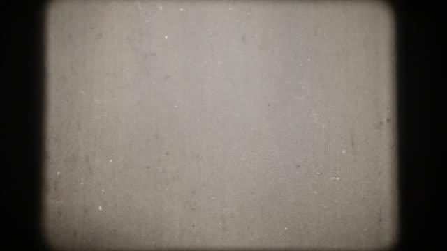 Vintage 16mm Scratched Film Leader (HD1080)