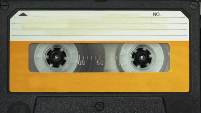 vintage audio cassette - audio equipment stock videos & royalty-free footage