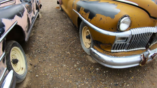vintage cars, old car - weathered stock videos & royalty-free footage