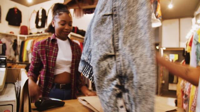 vintage clothes shop - till stock videos & royalty-free footage