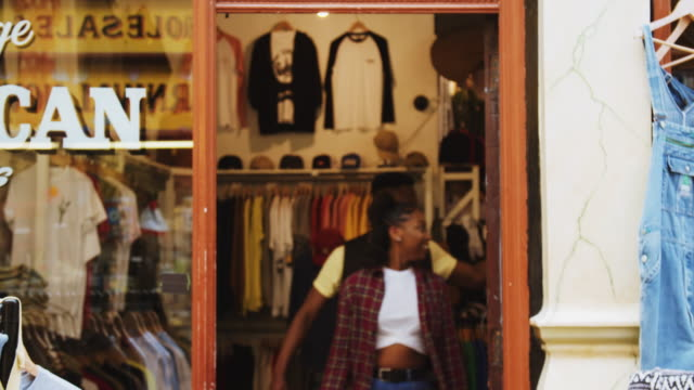 vintage clothes shop - hull stock videos & royalty-free footage