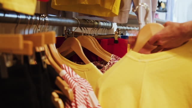 vintage clothes shop - clothing store stock videos & royalty-free footage