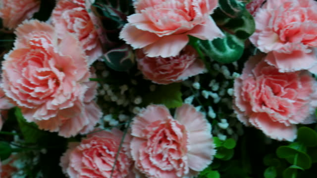 vintage flower in room - bouquet stock videos and b-roll footage