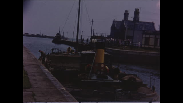 vintage home movie sequences filmed during a family vacation in southwold, suffolk, east anglia, england, circa august 1965. - east anglia stock videos & royalty-free footage