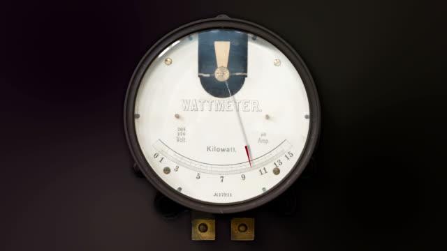 Vintage Kilowatt Meter