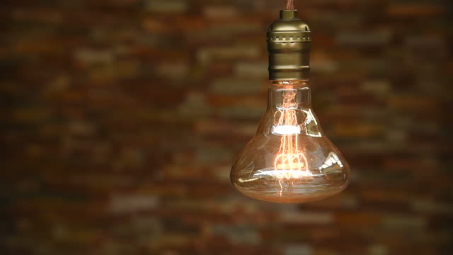 hd: vintage lighting decor - filament stock videos & royalty-free footage