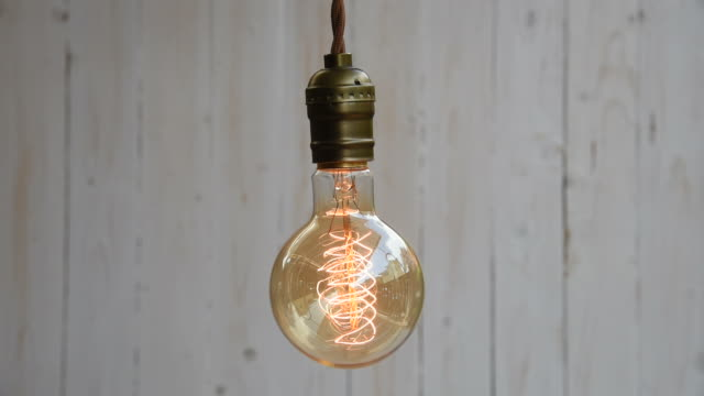 hd: vintage lighting decor - lamp shade stock videos and b-roll footage