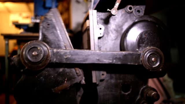 stockvideo's en b-roll-footage met vintage machinery (hd) - machine part