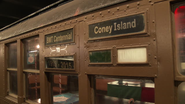 vintage nyc subway train cars (1910s - 1960s) - 1910 stock videos & royalty-free footage
