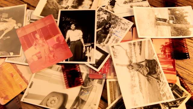 vintage photo - polaroid stock videos & royalty-free footage