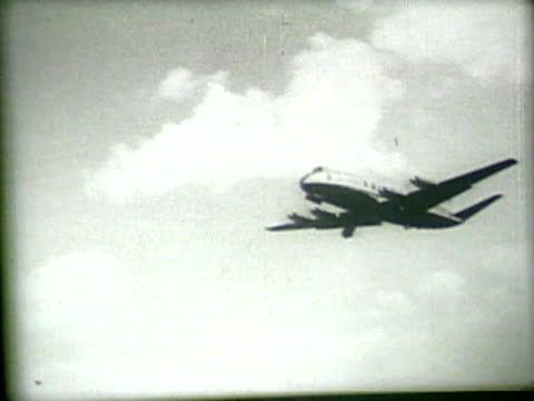 vintage plane flying - the past stock videos & royalty-free footage