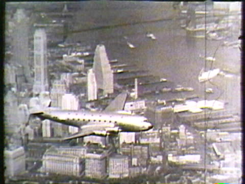 vintage plane - archival stock videos & royalty-free footage