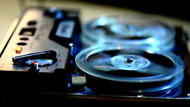 vidéos et rushes de vintage joueur - matériel hi fi