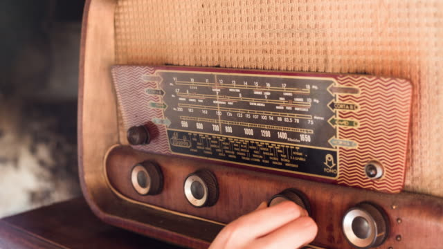 vintage radio - radio stock videos & royalty-free footage