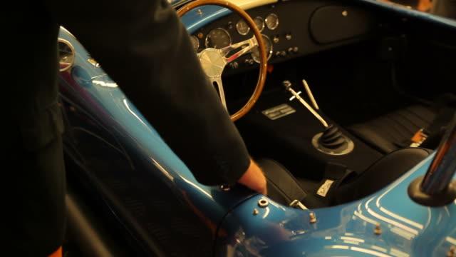 vintage steering wheel - vintage car stock videos and b-roll footage
