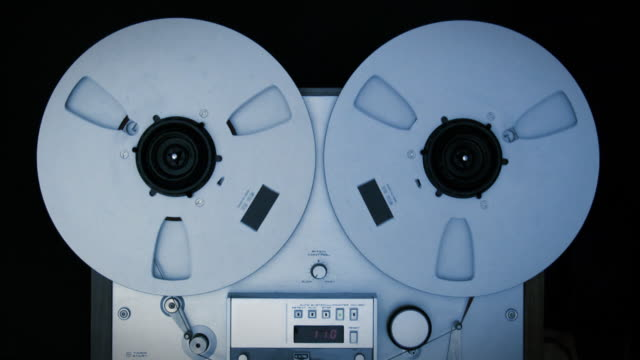 vintage tape recorder playing - fbi stock videos & royalty-free footage