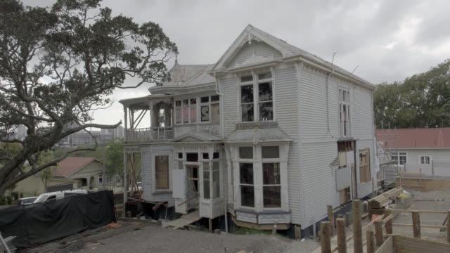 Vintage villa at the start of an extensive renovation