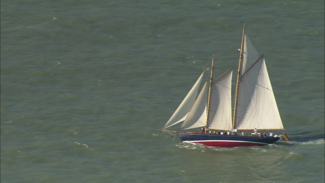 vintage yachts off cannes - international cannes film festival stock videos and b-roll footage
