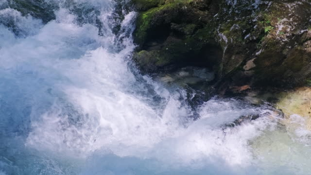 vintgar gorge,triglav national park, julian alps - slovenia stock videos & royalty-free footage