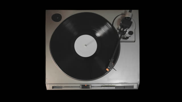 vinyl record player - disk stock videos & royalty-free footage