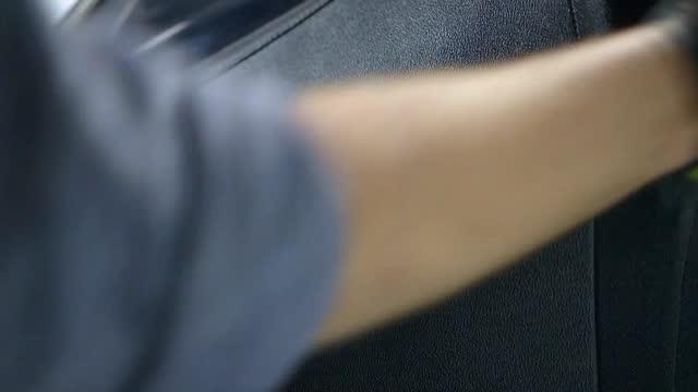 vinyl roof maintenance - dishcloth stock videos & royalty-free footage