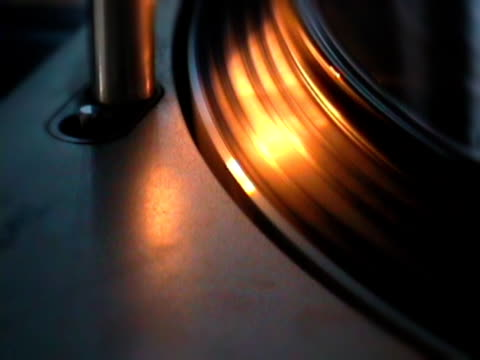 dj vinyl spinning record player - audio software stock videos & royalty-free footage