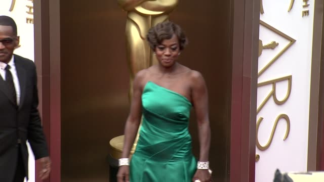 Viola Davis 86th Annual Academy Awards Arrivals at Hollywood Highland Center on March 02 2014 in Hollywood California