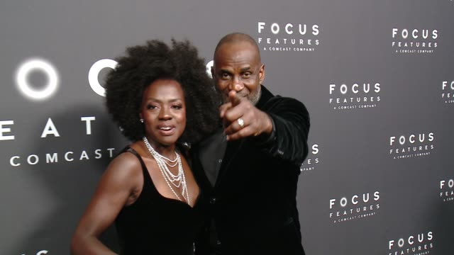 Viola Davis and Julius Tennon at Focus Features 75th Golden Globe Awards AfterParty at The Beverly Hilton Hotel on January 07 2018 in Beverly Hills...