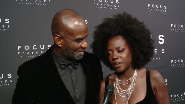 viola davis and julius tennon on the show, her favorite moments, being inspired by oprah's speech, on times up and the #metoo movement and how the... - golden globe awards stock videos & royalty-free footage