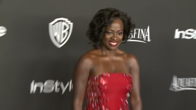 Viola Davis at 16th Annual InStyle And Warner Bros Golden Globe AfterParty on January 11 2015 in Beverly Hills California