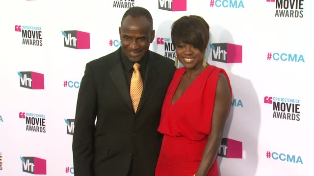 Viola Davis at 17th Annual Critics' Choice Movie Awards on 1/12/12 in Hollywood CA