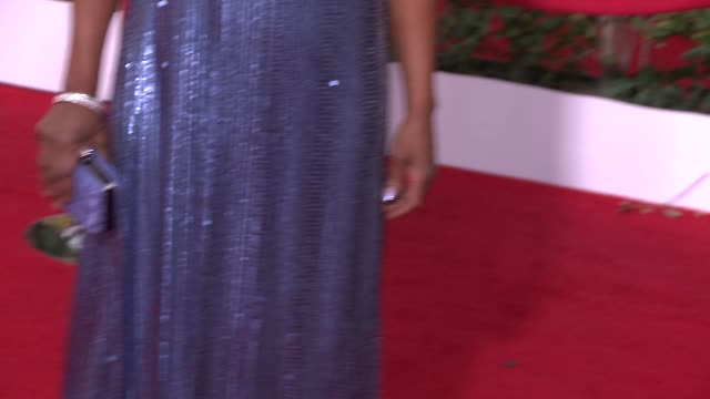 Viola Davis at 20th Annual Screen Actors Guild Awards Arrivals at The Shrine Auditorium on in Los Angeles California