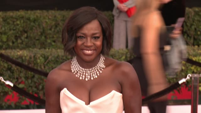 Viola Davis at 23rd Annual Screen Actors Guild Awards Arrivals at The Shrine Expo Hall on January 29 2017 in Los Angeles California